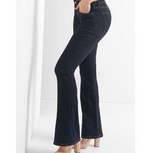 GAP Dark Wash Curvy Perfect Boot Jeans